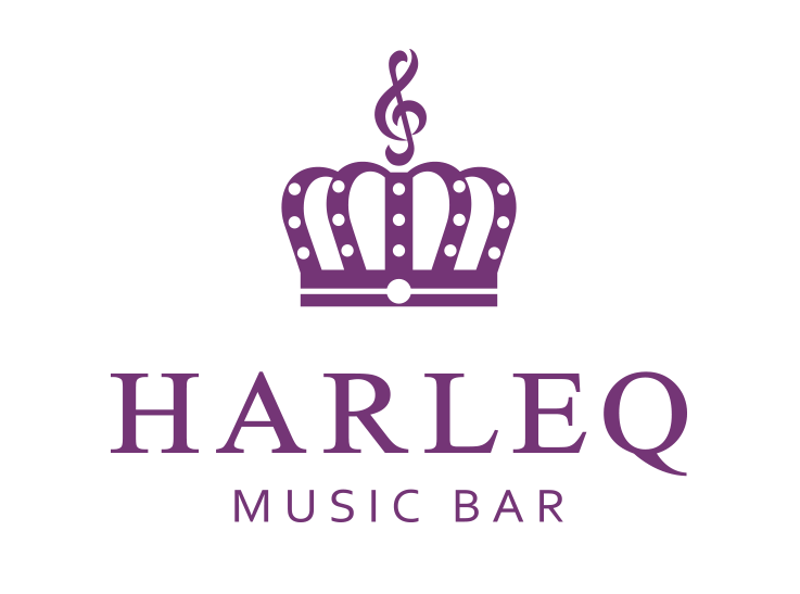 musicbar HARLEQ ハーレックロゴ